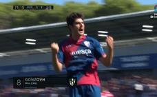 Gol de Melero (1-1) en el Huesca 1-1 Girona