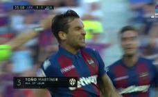 Vídeo del zapatazo de Toño que le dio la victoria al Levante