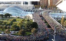 El Maratón de Valencia agota sus dorsales a dos meses de su celebración