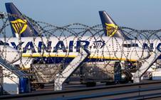 Ryanair recorta un 12% su plan de crecimiento por las huelgas y cae en Bolsa