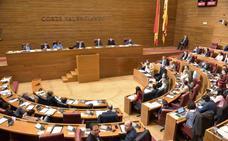 Les Corts aprueba una subida de sueldo del 1,75% para los diputados