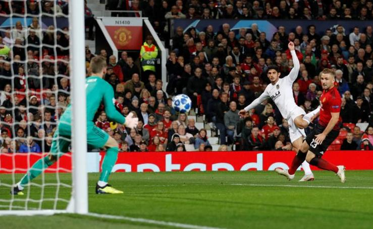 El Manchester United - Valencia, en imágenes