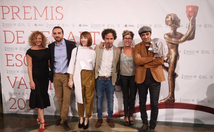 Gala de entrega de los Premios de las Artes Escénicas Valenciana