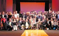 Unos premios con teatro, música y política