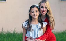 Zaira Nácher, corte de honor de la fallera mayor infantil: «De mayor quiero ser periodista»