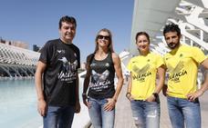 Volarán en la ciudad con la V de Valencia en las camisetas