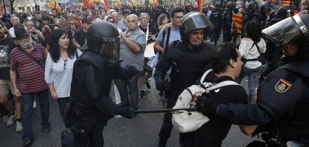 El Gobierno movilizará a 1.500 policías el 9 d'Octubre ante el aluvión de manifestaciones