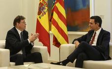 Sánchez rebaja sus compromisos con Puig