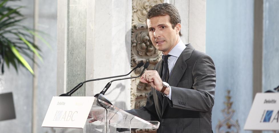 Casado pide la recuperación del frente constitucionalista