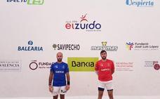 Guadi, rival del campeón del Individual de raspall tras la lesión de Brisca