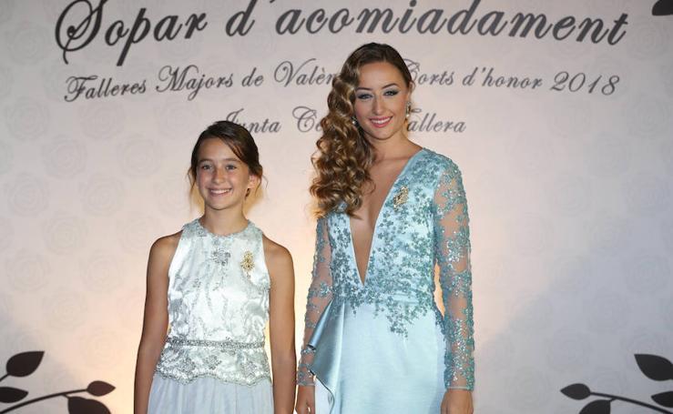 Rocío Gil y Daniela Gómez, falleras mayores de Valencia 2018, se despiden de su reinado