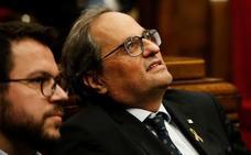 Torra y Aragonès se conjuran para mantener viva la legislatura catalana al menos hasta la sentencia del 1-O
