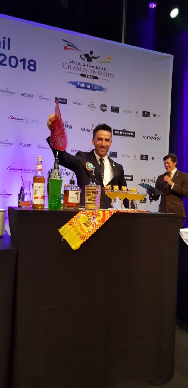Un valenciano, campeón del mundo de coctelería