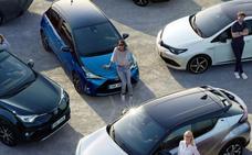 Los híbridos Toyota, líderes en ventas