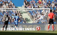 Vídeo del golazo de Bardhi en el Getafe 0-1 Levante
