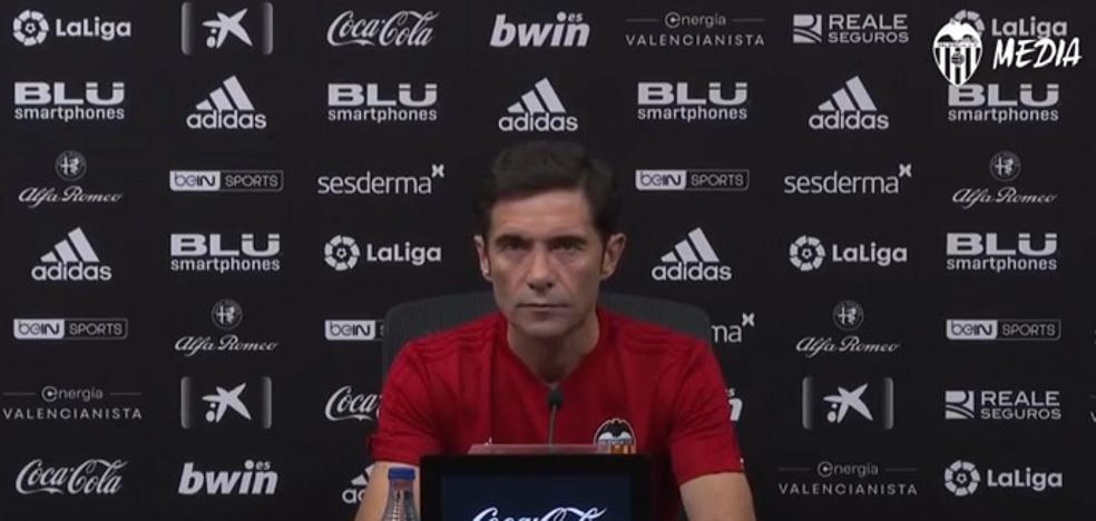 Marcelino: «El equipo nunca fue vulnerable ni apático; aún nos queda margen de mejora»