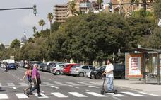 Joan Ribó avala la reforma de la Alameda de Valencia: «Aparcar en el centro es peligroso»