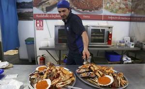 Última semana para visitar la feria del marisco MarisGalicia en Valencia