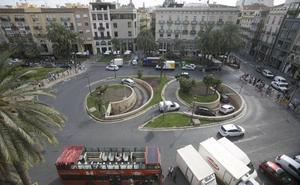La reforma de la plaza de la Reina sigue pendiente de la autorización de Cultura
