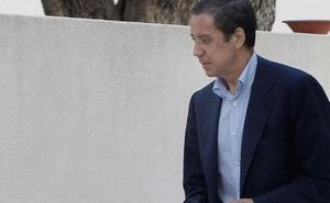 Zaplana: «Me pronunciaré cuando recupere la libertad y conozca el caso»