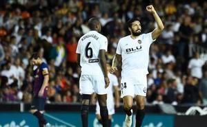 Al Valencia ya sólo se le resiste el gol