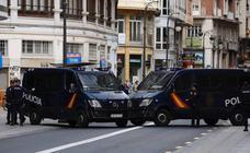 Impresionante dispositivo policial en los actos del 9 d'Octubre