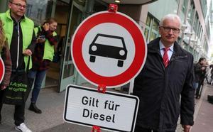 Berlín prohíbe la circulación de los coches diésel más antiguos por algunas calles
