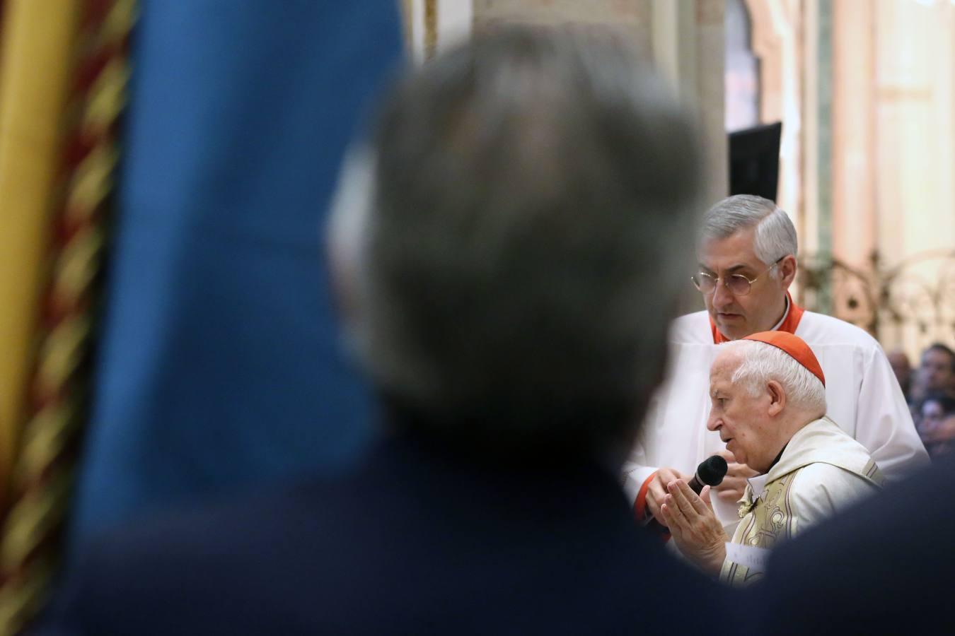 Tradicional Te Deum del 9 d'Octubre en la catedral de Valencia