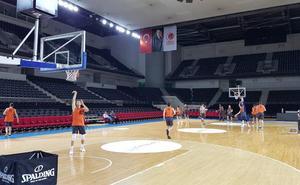 Máxima seguridad en el entrenamiento del Valencia Basket