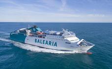 La UE concede una ayuda de 11,8 millones al proyecto de Baleària para poner motores de gas natural licuado a cinco ferries
