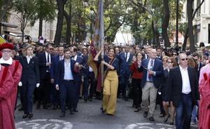Civismo, valencianía y reivindicación de la unidad de España marcan la procesión del 9 d'Octubre