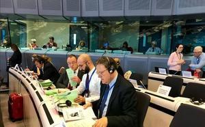 El Comité de las Regiones apoya la inclusión del tren a Zaragoza en la red europea de los corredores
