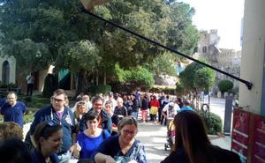 El castillo de Xàtiva recibe casi mil visitantes durante el 9 de octubre