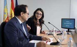 El PSPV se pliega a la intención de Oltra de revertir la gestión de las residenciasLa ley de medidas fiscales modifica 29 textos legales