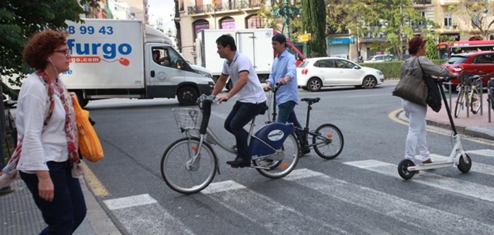 Ordenanza de bicicletas y patinetes de Valencia: ¿Se puede...?