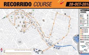 Recorrido del Medio Maratón de Valencia 2018