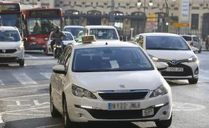 El carril bus estará vetado a los taxis para recoger o dejar pasajeros