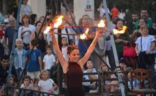 Teatro y circo en la calle con Mostra Viva