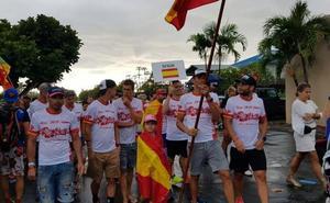 Vicente Palones se mide a triatletas de élite en Hawaii