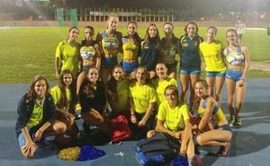 El femenino cadete del CA Safor se foguea ante los mejores clubes de España