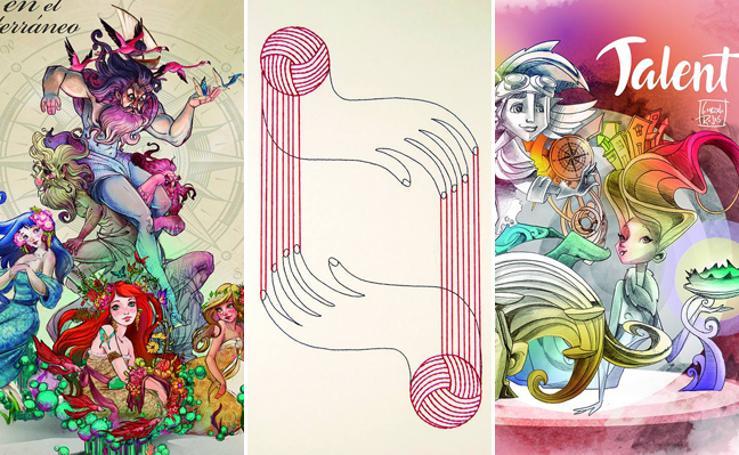 Bocetos de las fallas de Valencia de la Sección Especial 2019