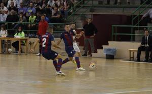 El argentino Maxi Rescia lidera con dos goles la remontada del Levante FS