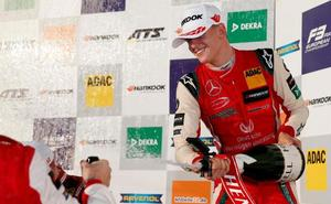Mick Schumacher, hijo de Michael, nuevo campeón de Europa de Fórmula 3