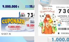 El mismo número, premiado en la ONCE y la Lotería Nacional y no es la primera vez