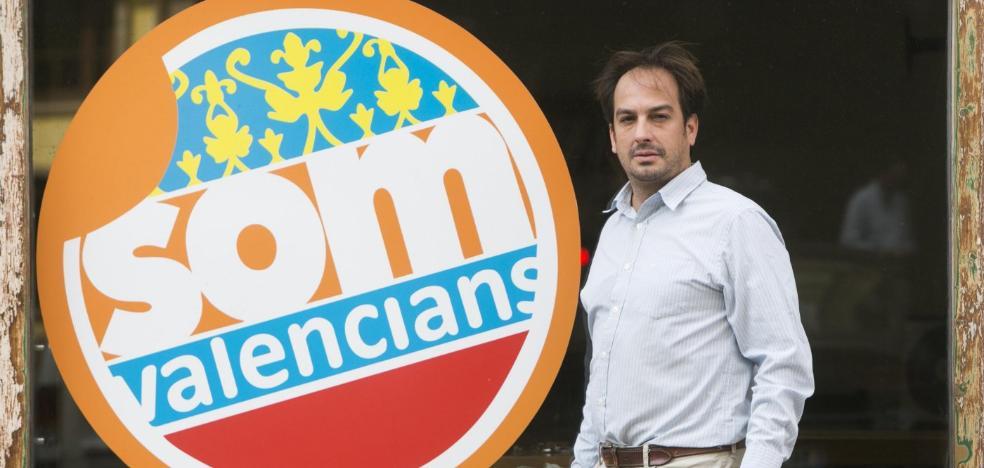 Jaume Hurtado, de Som Valencians: «Nuestro voto será el de los que apoyaron a Compromís sin saber qué era»