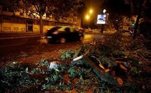 La llegada del ciclón 'Leslie' obliga a declarar la alerta por fuertes lluvias en la Comunitat