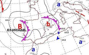 Previsión de lluvias importantes para los próximos días en Valencia