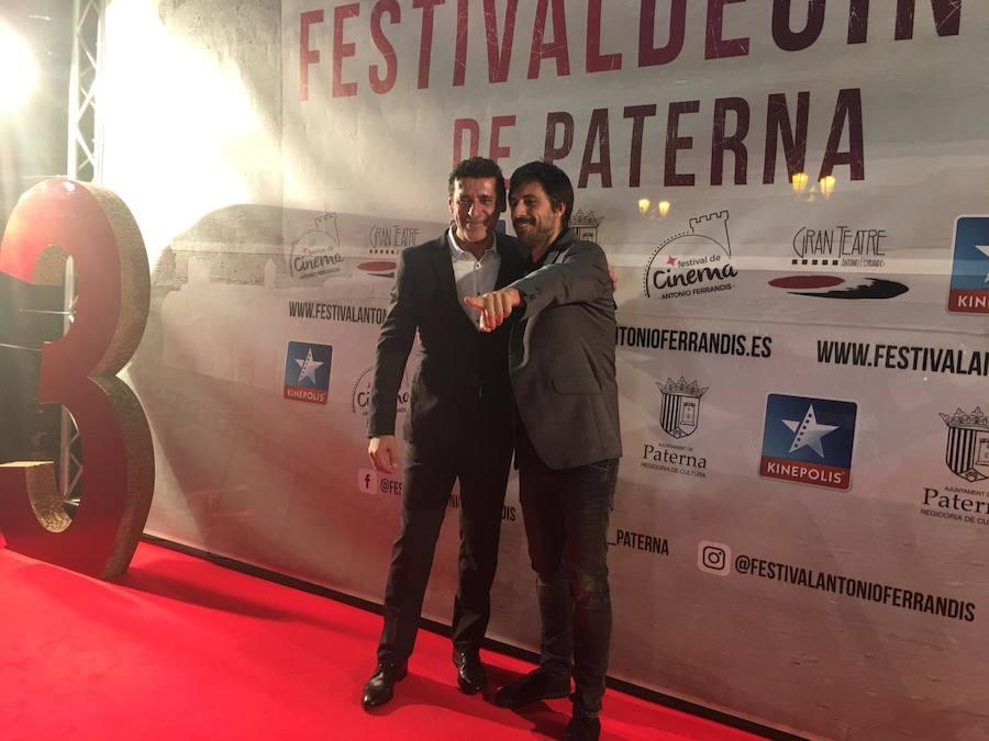 Hugo Silva recibe en Paterna el premio Antonio Ferrandis