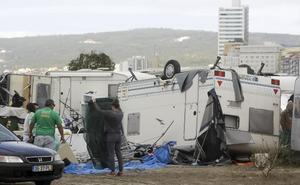 El ciclón 'Leslie' pierde intensidad en España tras golpear Portugal