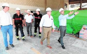 En 2019 acabará la ampliación del Parque de Bomberos en Benidorm